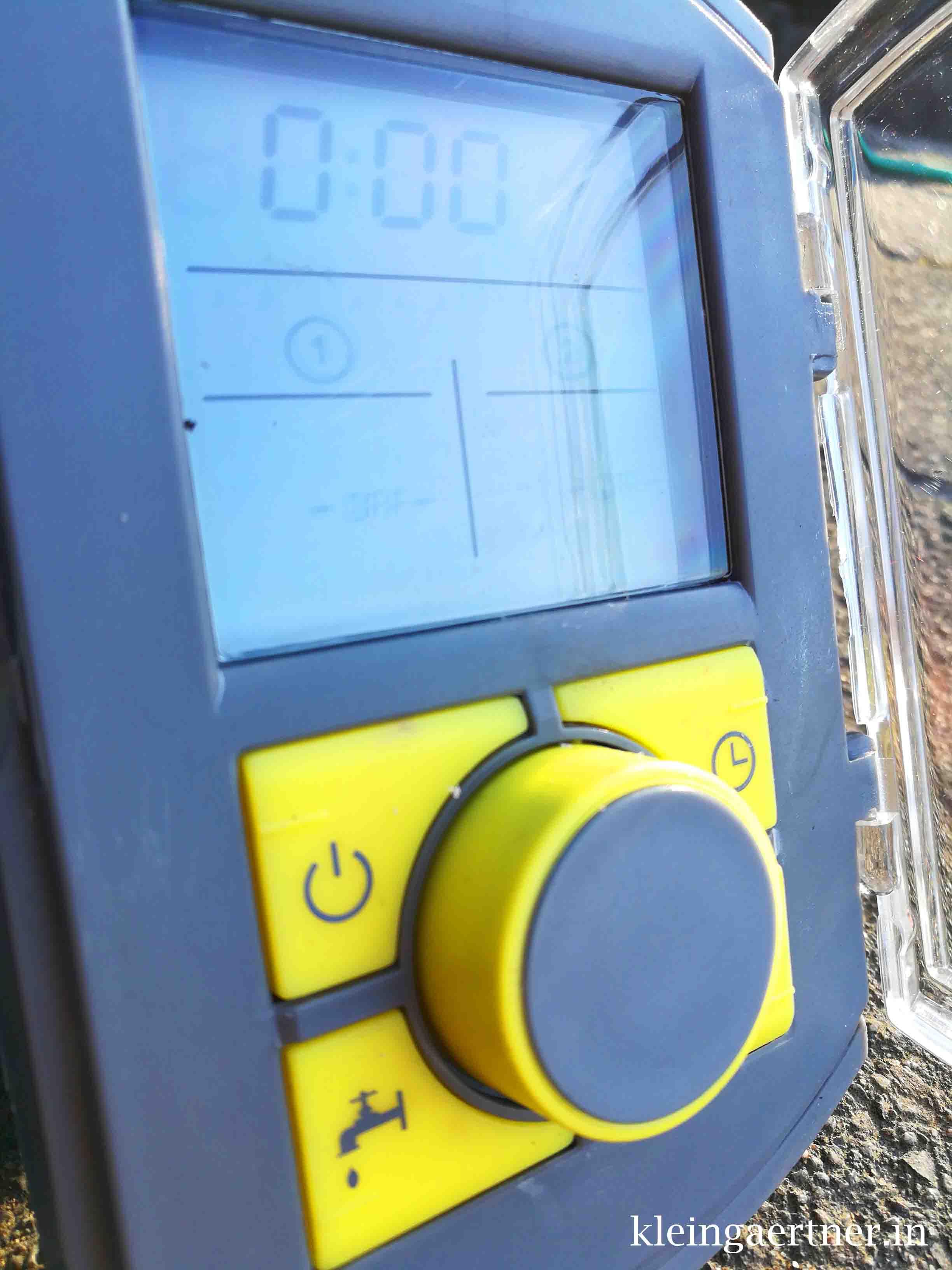 Bewässerungscomputer Wasserhahn